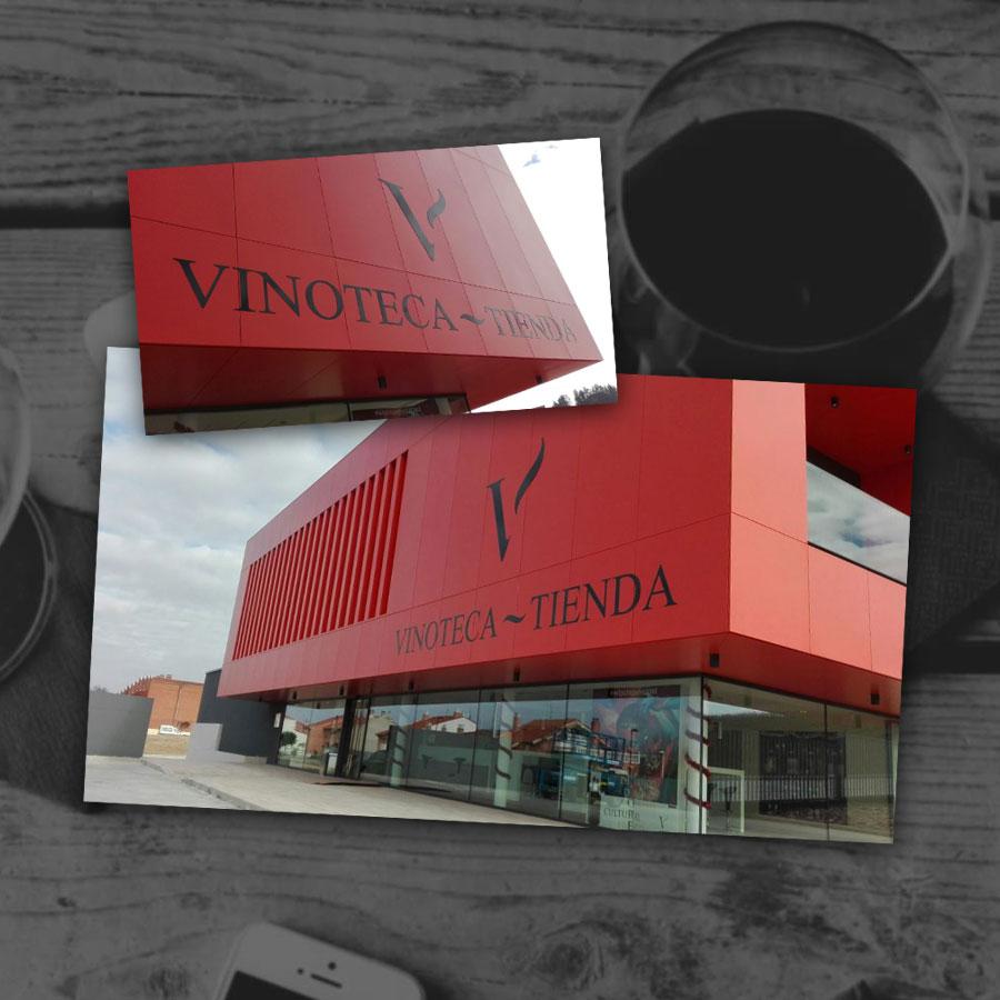 diseño a medida para vinoteca en valladolid